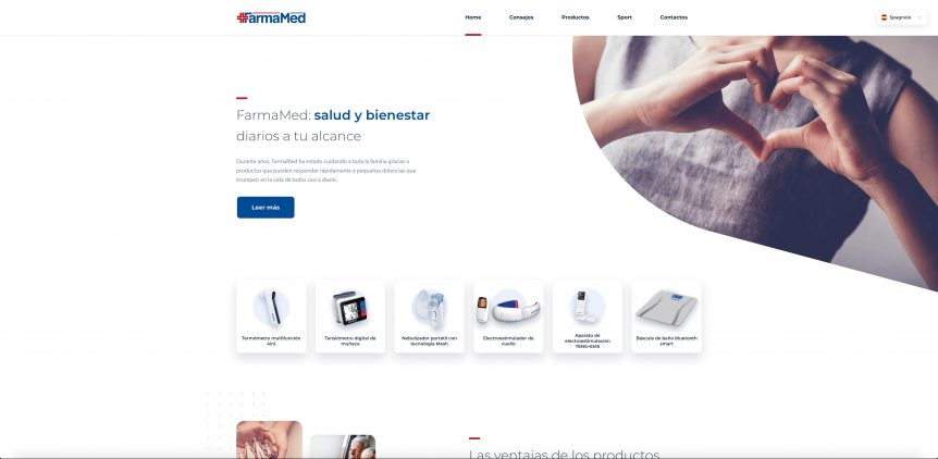 Home page FarmaMed español